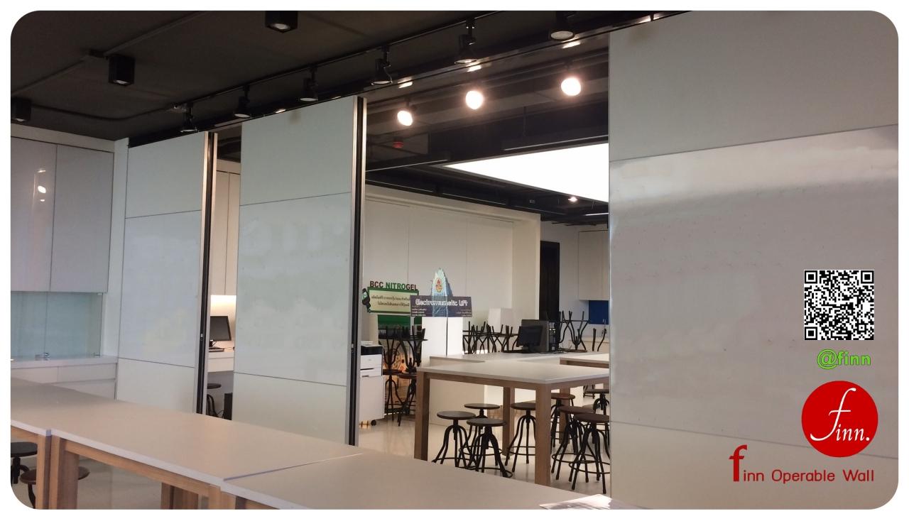 ผนังบานเลื่อนแบ่งกั้นห้อง FINN Operable Wall By FINN De'cor